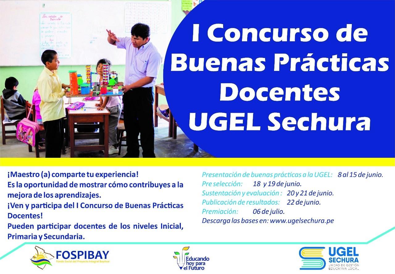 CONCURSO DE BUENAS PRACTICAS DOCENTES 12.05.2018