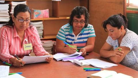 San Martín: Implementan currículo nacional en educación inicial