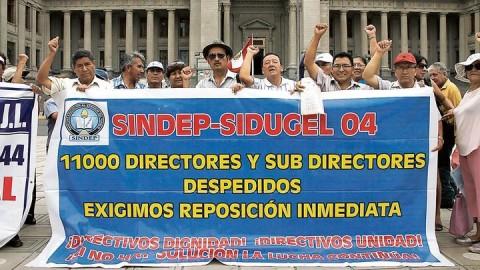 CNE: piden archivar normas que van contra Ley Magisterial