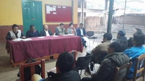 FONDEP encabezó mesa técnica para implementación de proyectos de innovacion educativa en Pallasca