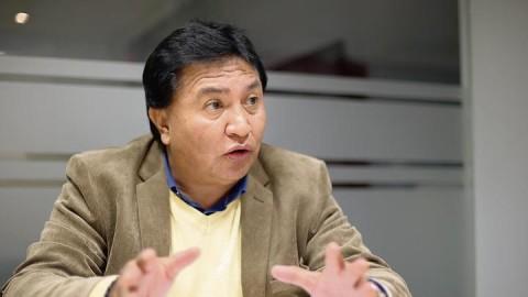 """Lucio Castro: """"Usurpan el nombre del Sutep para confundir y sorprender a maestros"""""""