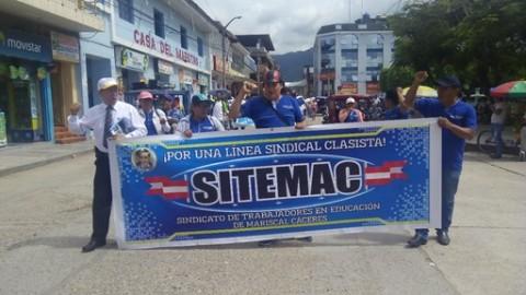 Profesores de Juanjuí iniciarán acciones legales contra sector Educación