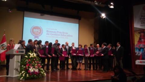 Concurso BPG 2018: Discurso de Edith Anahua, directora DRE de Tacna