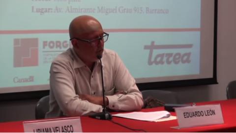 """Presentación del libro """"El fenómeno ECE y sus efectos en las prácticas docentes"""""""
