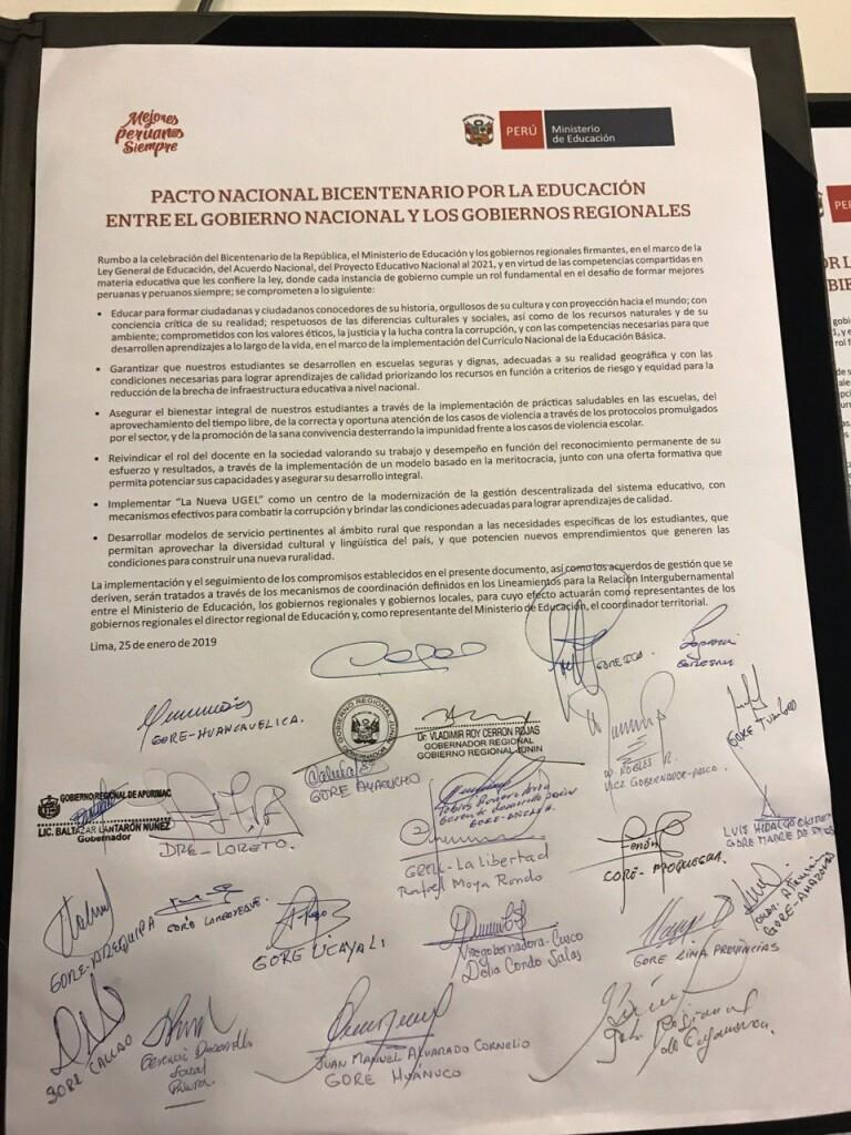 pacto bicentenario