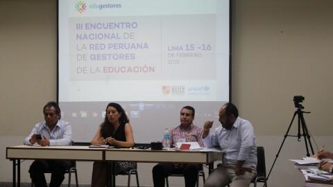 III Encuentro Nacional de Edugestores: experiencias de Arequipa, Lima Metropolitana y Apurímac