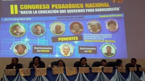 Huancavelica: desafíos del nuevo currículo nacional escolar