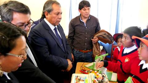 Cusco: Viceministro de Gestión Institucional presentó resultados de ECE 2018
