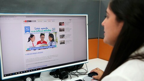 DRELM: Registrarán a menores que no están matriculados
