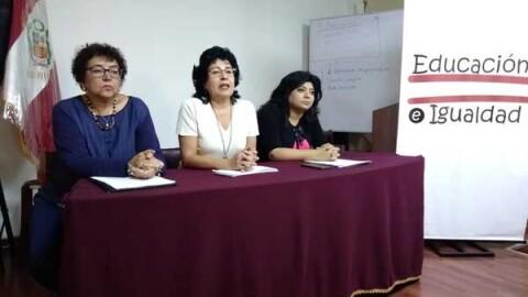 Arequipa: Plataforma  defiende enfoque de género en currícula escolar