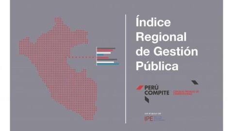 Retrocedió calidad de gestión pública en 17 regiones del país en 2018