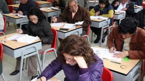 Prueba nacional: 47 mil maestros del Sur quieren ingresar a Carrera Pública Magisterial