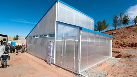 Pronied instalará 272 módulos de heladas para proteger a escolares de zonas altoandinas