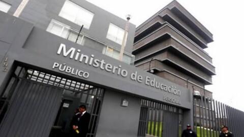 Gobierno transfiere S/ 35,9 millones para financiar pagos a docentes nombrados y contratados