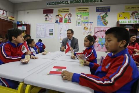 Vizcarra: Invertir en educación nos permite formar ciudadanos con valores