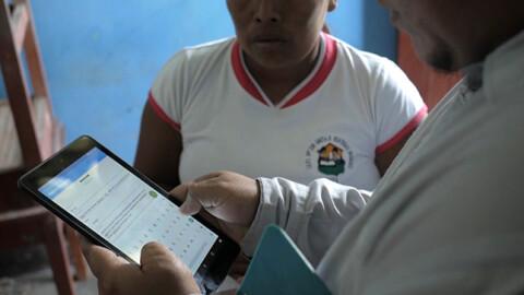 Loreto: moderno sistema georreferencial para distribución de materiales educativos destinados a zonas remotas