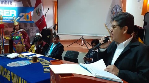 Vilcashuamán: se realizó IV Reunión de coordinación de gestión educativa regional