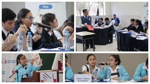 Piura: estudiantes reclaman implementar protocolo de convivencia escolar