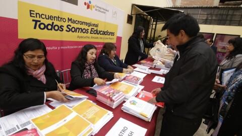 """CNE: Encuentro macrorregional """"Todos somos Educadores"""" se realizará en Lima"""