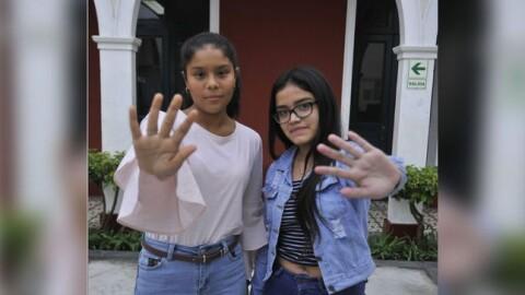 Niñas y adolescentes alzan su voz contra la violencia de género que se vive en Perú