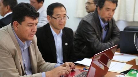 DRE Cajamarca: fortalecen gestión educativa