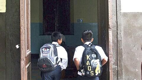 Minedu: 'Tolerancia cero' con los colegios informales