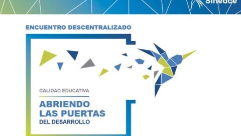Encuentros descentralizados de calidad educativa se realizarán en regiones