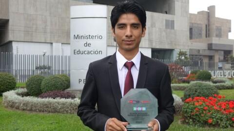Educativa TV: el proyecto del ganador del Premio Nacional de Juventud 2019