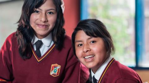 Impulsan proyecto para educar a más niñas en zonas rurales del Perú