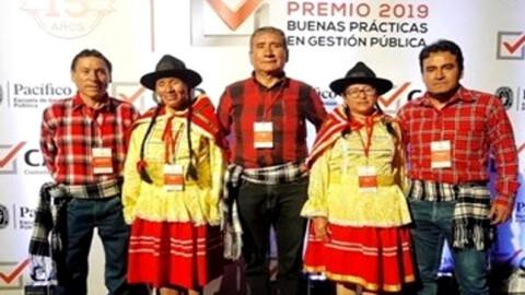 """Apurímac ganó Premio de """"Buenas Prácticas en Gestión Pública 2019"""""""