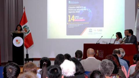 Cátedra UNESCO: Minedu invita a hacer aportes a política de educación superior
