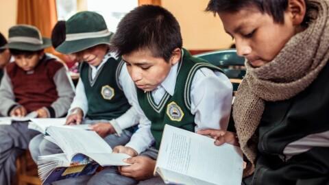 Proyecto promueve lectura para mejorar la convivencia escolar