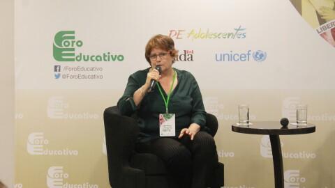"""Nelly Claux: """"Estamos buscando un pacto social por la educación"""""""