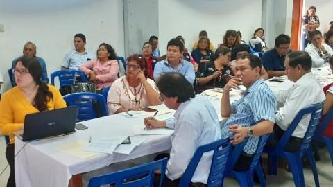 Loreto: se realizó Comisión de Gestión Intergubernamental en Educación