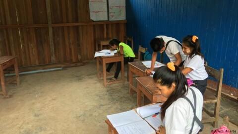 Educación de los uchunya: los niños que sueñan con ser abogados