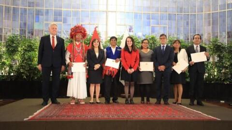 'Embajadores de la Integridad 2019′ fueron premiados por la lucha contra la corrupción