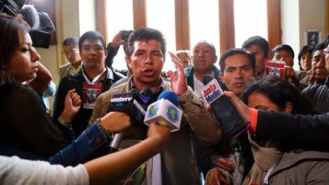 Se deniega inscripción de federación de sindicatos de maestros liderado por Pedro Castillo