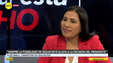 """Flor Pablo: """"El gobierno va a seguir respaldando el enfoque de igualdad de género"""""""