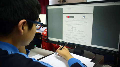 Junín: Anuncian plan virtual de educación para escolares