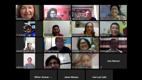 Edugestores realizó sesión virtual sobre gestión educativa y acciones ante emergencia sanitaria