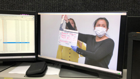 El colegio virtual construido en 12 días para niños en cuarentena