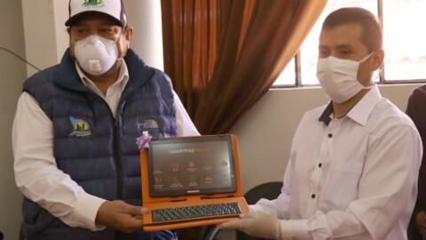 Apurímac: entregan 1,354 tablets educativas en zonas rurales