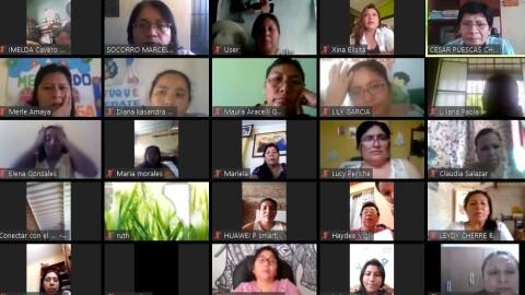 Piura: UGEL Sechura realizó  I Jornada Virtual de Reflexión y Análisis de Aprendo en Casa