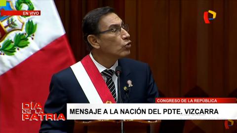 Mensaje a la Nación: ¿Qué dijo el presidente Vizcarra sobre Educación?