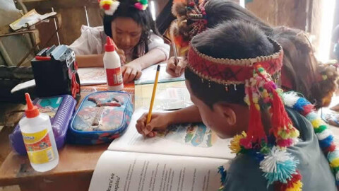 """Iniciativas regionales amplían acceso de estudiantes rurales a """"Aprendo en casa"""""""