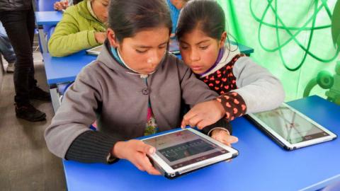Minedu: Distribución de tabletas para escuelas públicas comenzará a fines de julio