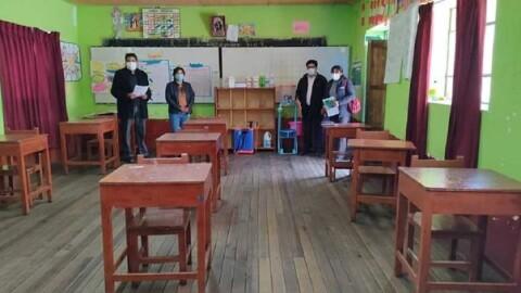 UGEL Carabaya: Más de mil estudiantes retornarán a clases semipresenciales
