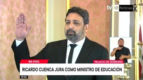 Ricardo Cuenca es el nuevo ministro de Educación