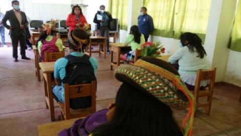 Escolares de la selva con el menor acceso a Aprendo en Casa