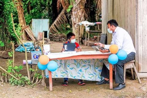 Los tambos son aliados de la educación rural
